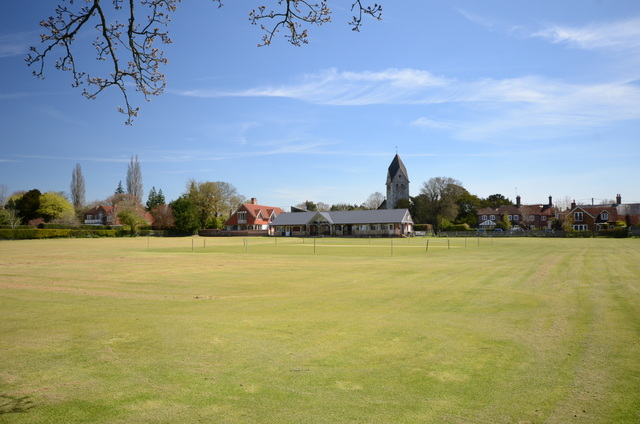 Hawkley Cricket pitch and hall